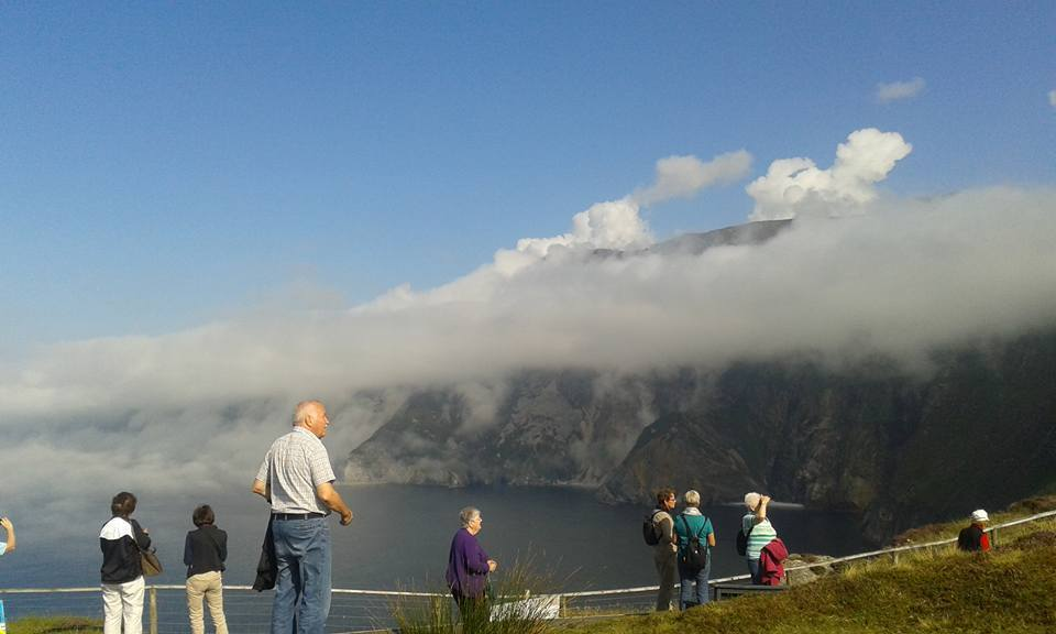 Group at Slieve League cliffs