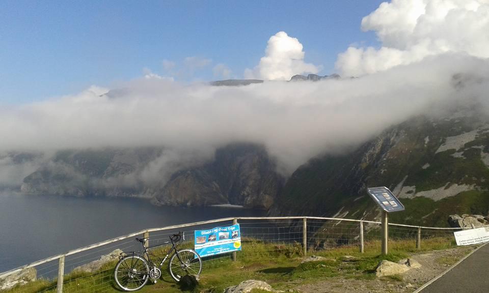 Slieve League cliffs view